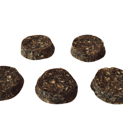 Dried Cod meat Round Superfood wtih Blueberry