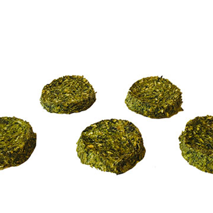 Dried Cod Meat Round Superfood with Spinach