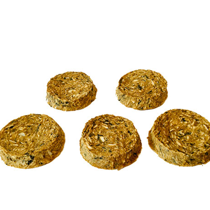 Dried Cod meat Round Superfood with Pumpkin
