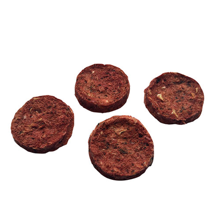 Dried Cod meat Round Superfood with Strawberry