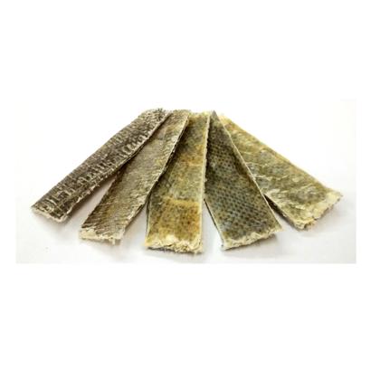 Dried Cod Skin Stripes